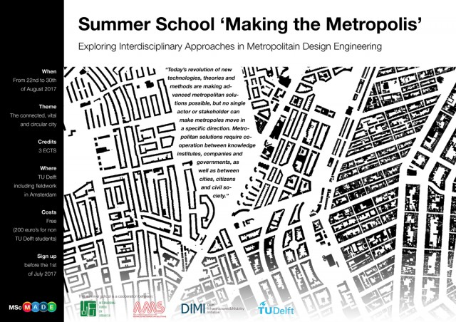 2017_Summer_School_Making_the_Metropolis_poster_Colour